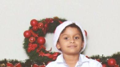 Foto de Filho de vice-diretora, garoto de 07 anos que morreu em piscina, saiu com o irmão para fazer trabalho escolar