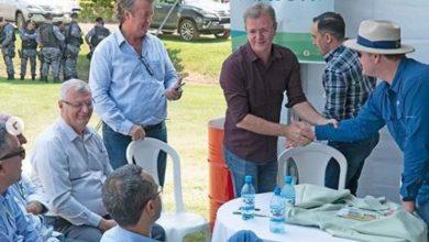 Photo of Deputado Luizinho Goebel comenta a Abertura Nacional do Plantio de Soja que ocorreu em Vilhena