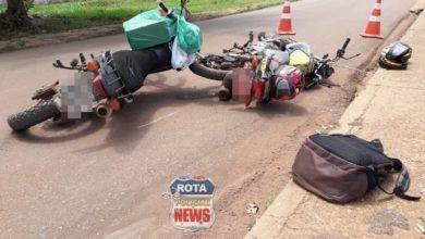 Photo of Motociclista é encaminhado para Vilhena após acidente em Colorado do Oeste
