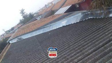 Photo of Vento forte destelha residência no residencial Orleans em Vilhena
