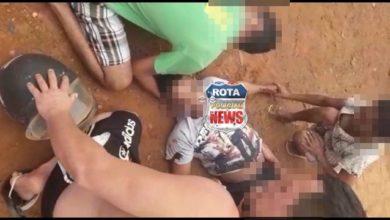 Photo of Colisão entre picape e motocicleta deixa uma pessoa ferida em Vilhena