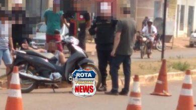 Photo of Motociclista sofre leves ferimentos após colisão contra carro na avenida Melvin Jones