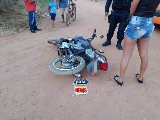 Garota De 16 Anos Provoca Acidente Entre Motos E