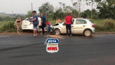 Photo of Casal morre em grave colisão entre carros e idoso fica gravemente ferido