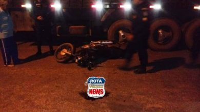 Photo of Motociclista fica em estado grave após atingir carreta que estava estacionada no bairro São José