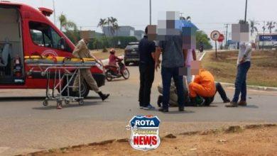 Photo of Após acidente, motorista perde controle da direção e atinge poste no bairro 5ºBEC