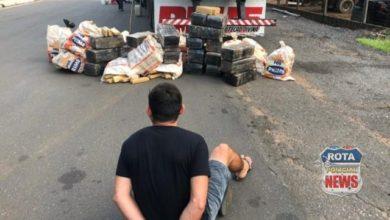 Photo of Operação da PRF e PM resultou na maior apreensão de drogas deste ano, no Cone Sul do estado