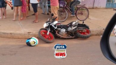 Photo of Colisão entre carro e moto deixa um ferido nesta manhã