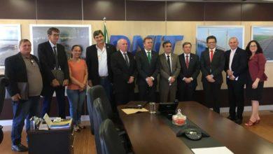 Foto de Em Brasília, Luizinho Goebel participa de reunião no DNIT e cobra construção de trevo no Cone  Sul