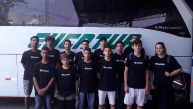 Photo of Equipe do basquete Sicoob Credisul/Asbavi embarca para Uberlândia para a disputa da Copa Brasil Central Sub-15