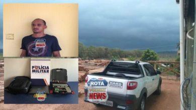 Photo of Urgente: Picape furtada em Vilhena é recuperada pela PM do Mato Grosso e infrator é preso