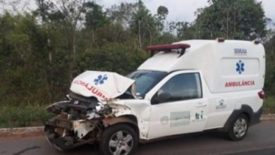Photo of Motorista provoca acidente entre ambulância e carreta na BR-364 e foge do local