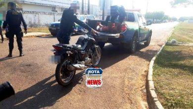 Photo of Duas motocicletas foram apreendidas nesta segunda-feira e um suspeito flagrado com entorpecente em Vilhena