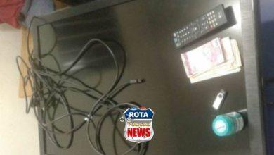 Photo of Mulher reconhece TV furtada e casal acaba preso pela Polícia Militar