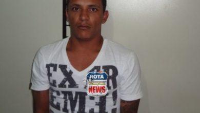 Foto de Polícia prende suspeito que estava com rádio HT na frequência da polícia e portava arma e drogas em Vilhena