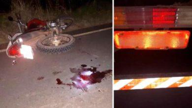 Photo of Motociclista colide em traseira de caminhão na rodovia RO-473
