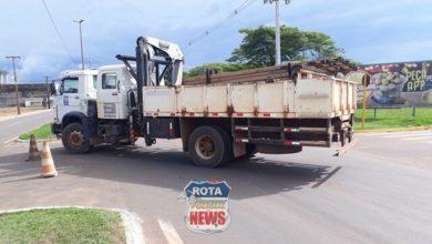 Photo of Motociclista atinge caminhão que presta serviços à ENERGISA e fica ferido na BR-174