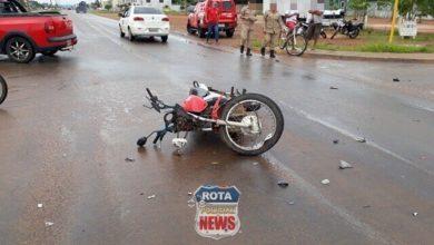 Photo of Motociclista sofre ferimentos ao atingir camionete em Vilhena