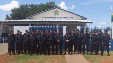 Photo of Comandante Geral e Subcomandante da PMRO participam da reinauguração do quartel em Corumbiara