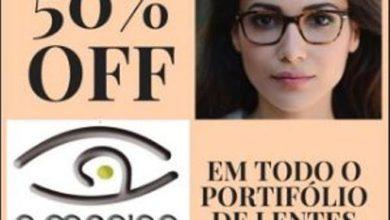 Foto de Ótica A Menina dos Olhos está com promoção imperdível com até 50% de descontos