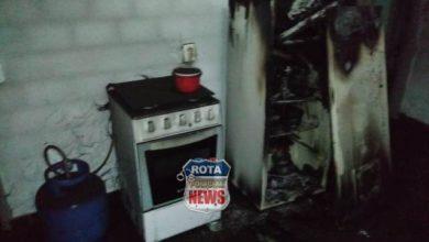 Photo of Princípio de incêndio que começou em geladeira na cozinha de empresa é controlado pelo Corpo de Bombeiros