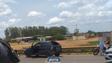 Photo of Carreta atinge traseira de automóvel na BR-364 em Vilhena