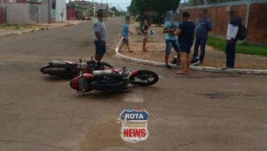 Photo of Motociclista inabilitado e na contramão provoca acidente em Vilhena