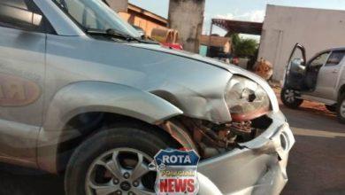 Foto de Dois acidentes são registrados nesta tarde em Vilhena