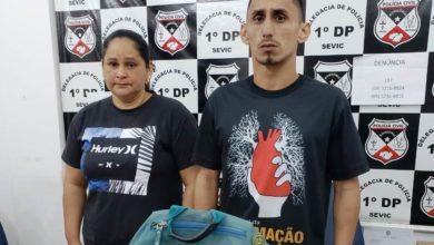 Photo of Mãe e filho ligados a facções criminosas são presos suspeitos de terem envolvimentos a ataques a carros oficiais