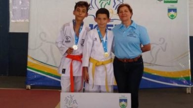 Photo of Garoto vilhenense conquista 1º Lugar em Karatê no JOER