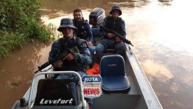 Photo of Em Colorado, Força Tática e Inteligência da PM realizam patrulhamento em rios do Cone Sul