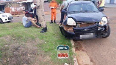 Photo of Adolescente colide contra carro que avançou preferencial no Bela Vista