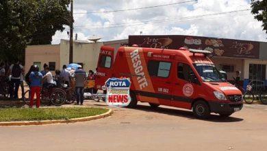 Photo of Estudante fratura o braço após ser atingida por veículo e motorista fugir do local