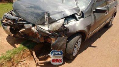 Photo of Acidente envolve carros e resulta em danos materiais em Colorado do Oeste