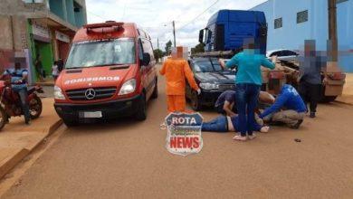 Foto de Idoso sofre ferimentos ao entrar na frente de carro no Jardim Primavera