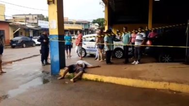 Photo of Urgente: morador de rua é executado com golpes de faca