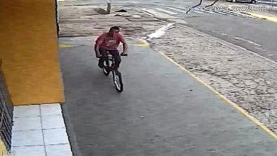 Photo of Flagra: câmeras de segurança capturam momento em que ladrão furtou bicicleta em Vilhena