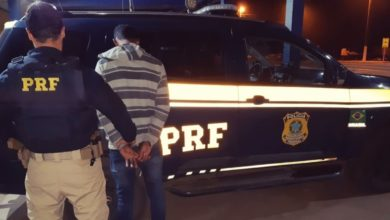 Foto de PRF e PM apreendem quase 7 quilos de maconha em Vilhena