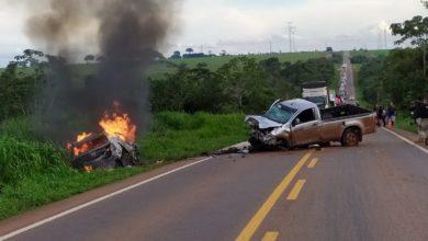 Photo of Motorista morre carbonizado após colisão frontal em rodovia do Mato Grosso