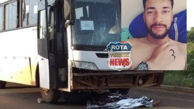 Foto de Urgente: vilhenense morre após colisão entre moto e ônibus no Mato Grosso