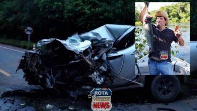 Photo of Empresário morre após grave acidente na BR-364 em Vilhena