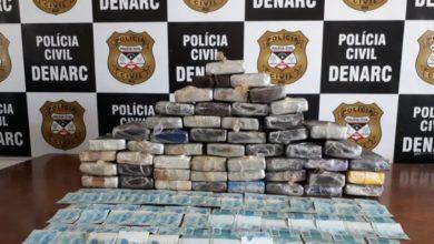 Photo of PC apreende mais de 50 quilos de cloridrato de cocaína durante fiscalização em rodovia