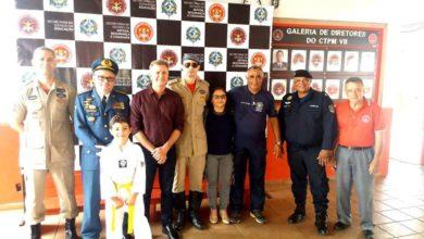 Photo of Procurando conhecer a gestão militar educacional, Goebel visita Colégio administrado pelo CBM em Porto Velho