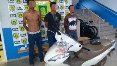Foto de Quadrilha que roubava motos em Vilhena é presa pela Polícia Militar