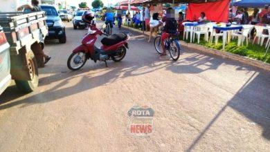 Photo of Motociclista atinge criança na feira da avenida Paraná e na sequencia colide com F-1000