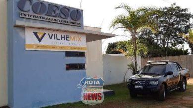 Foto de PF cumpre mandados em Vilhena e também na casa de ex-senador de Rondônia
