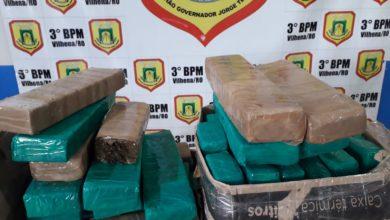 Photo of Urgente: operação da PM resulta na apreensão de 48 tabletes de maconha