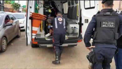 Photo of Motociclista inabilitado colide contra camionete e fica gravemente ferido
