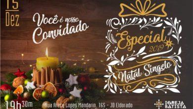 """Foto de Igreja Batista de Nova Vilhena irá realizar evento """"Especial de Natal"""" no domingo"""