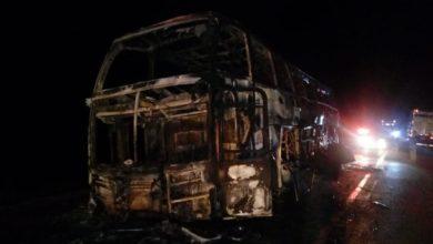 Foto de Urgente: informação de acidente entre ônibus e carreta na BR-364 com vítimas fatais mobiliza bombeiros em Vilhena